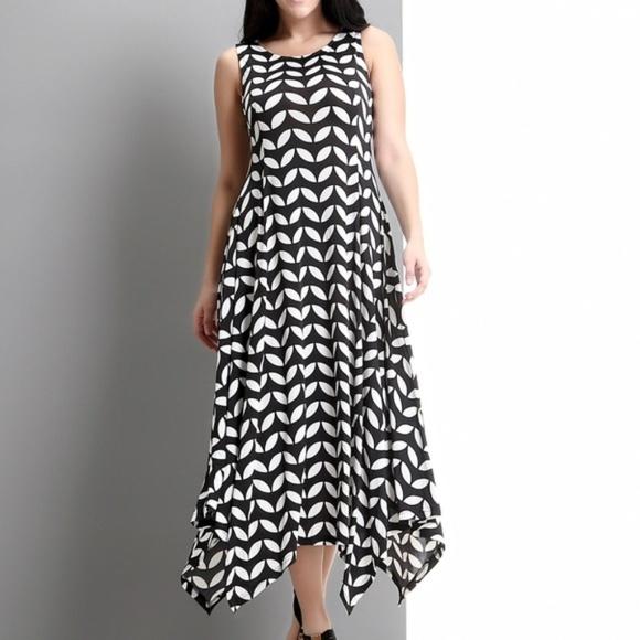 0b567fe8f843 Zulily Sleeveless Handkerchief Black Maxi Dress. Reborn Collection.  M_5ce0a3de9ed36d3c99237ecd. M_5ce0a3df15281284ce2db422.  M_5ce0a3df26219fceda9b418d